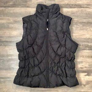 Nine West Black Puffer Vest